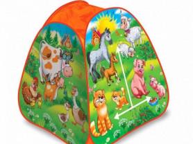 Детские игровые палатки и контейнеры для игрушек