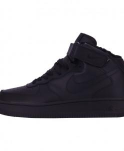 Кроссовки Nike Air Force 1 Mid '07 Black Winter