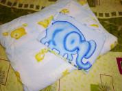 Детское одеяло и пододеяльник... Одеяло с мишками,