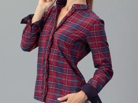 Рубашка TOM TAILOR размер 40 евро на наш 46 модная