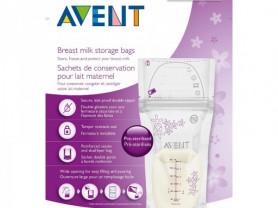 Пакеты Avent для хранения грудного молока 180 мл