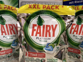 Fairy Platinum All in 1 - 70 шт, капсулы для посуд