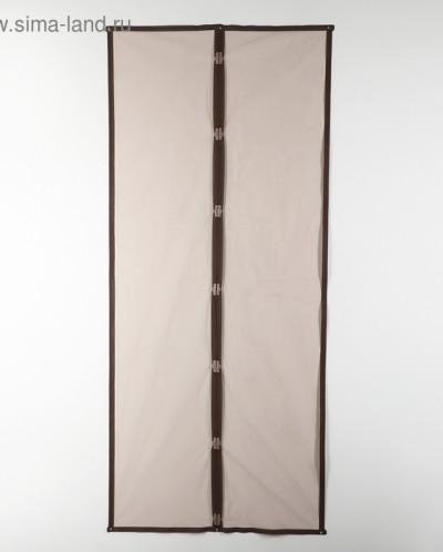 Сетка антимоскитная 90x210 см на магнитах