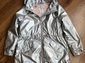 Ветровка H&M, размер 9-10 лет, серебро