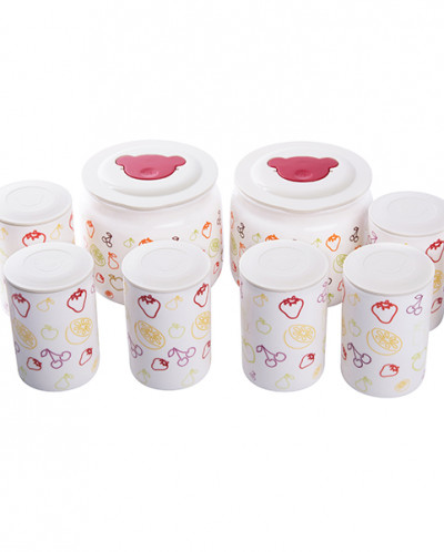 Йогуртница с 4 режимами и 10 керамическими баночками