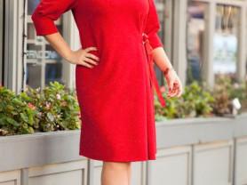 Женское платье Джина красное
