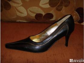 Новые кожаные черные туфли Белвест р. 38-39