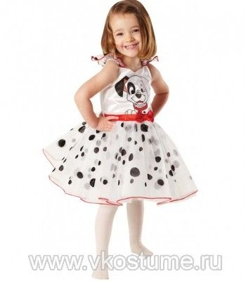 Платье далматинца