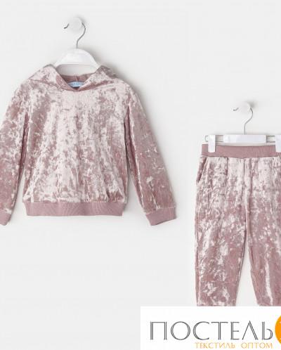 Костюм: джемпер, брюки KAFTAN, розовый, рост 122-128, р.34 4