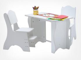 Растущий стол по системе Монтессори
