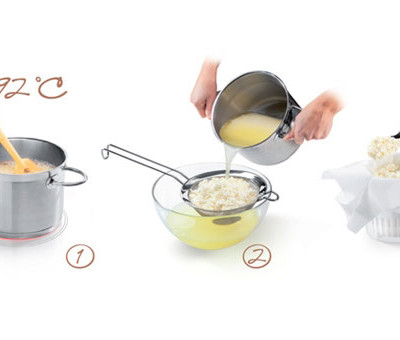 Набор для приготовления свежего сыра DELLA CASA
