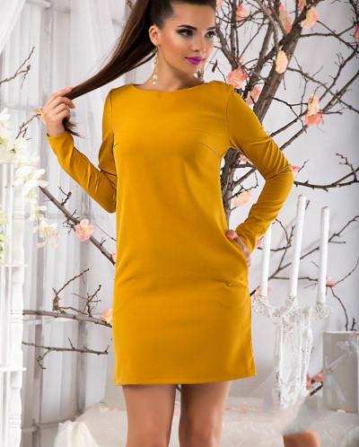 Короткие платья осень