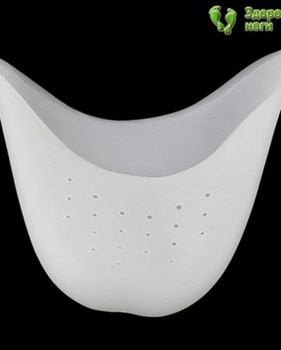 Силиконовая накладка-протектор на все пальцы ног (1 пара)