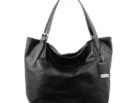Новая черная кожаная сумка Gaude Original