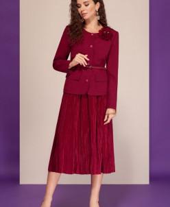 жакет, юбка Dilana VIP Артикул: 1477