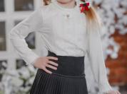 Форма школьная юбка Duwali цвет серый размер 128