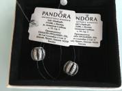Pandora Оригинал (791115CZ) Бочонок-Паве (2шт) Нов