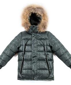 Куртка для мальчика-подростка зима КОРИЧНЕВЫЙ