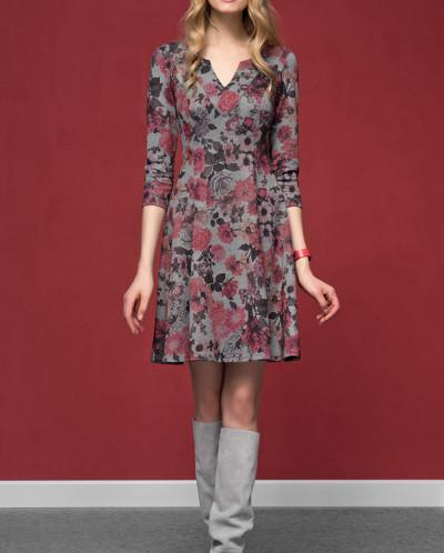 ZAPS - Осень-Зима 16-17 VENA  Платье 022