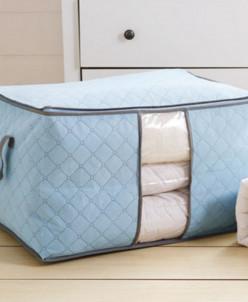 Чехол для хранения постельного белья Голубой