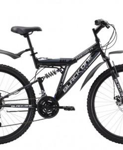 """Велосипед 26"""" Black One Phantom 18 ск 2 ам"""