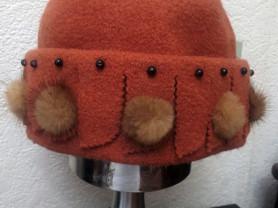 Новая шапка осень/зима размер единый
