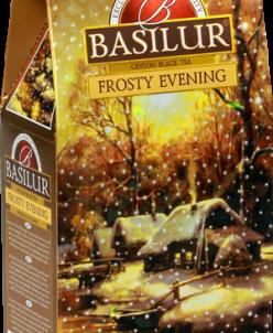 Чай Basilur Морозный вечер 100 гр картон