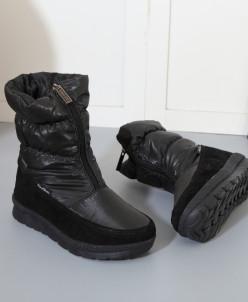 Дутики King Boots KB515SW Schwarz Черный
