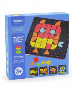 Мозаика с геометрическими фигурами
