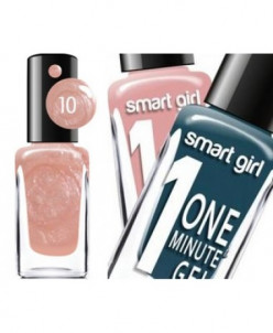"БД Лак для ногтей ""Smart Girl"" One minute №010, 14591"""