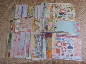 100 листов бумаги для скрапбукинга 30 х 30 см