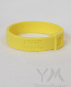Молочный браслет (жёлтый)