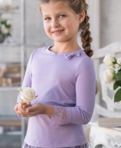 Трикотажная блузка В*ивьен старшая школа
