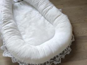 Гнездо Люкс для новорождённого белое