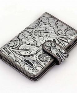 Маленький женский кожаный кошелек Sergio Valentini СВ 8114-0