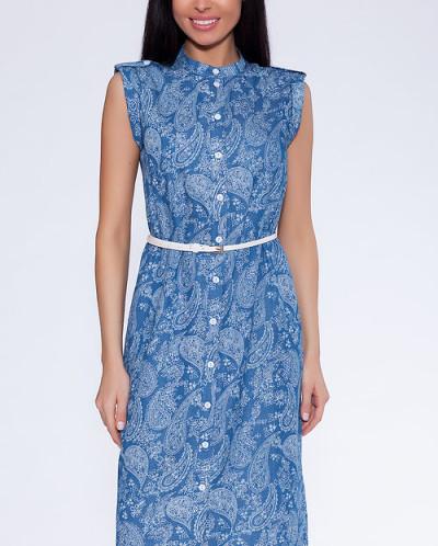 #14428 Платье-рубашка