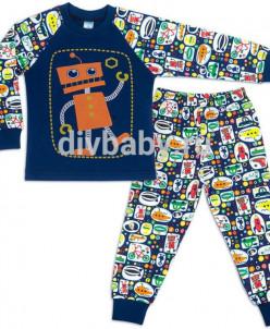 Пижама для мальчика интерлок №6