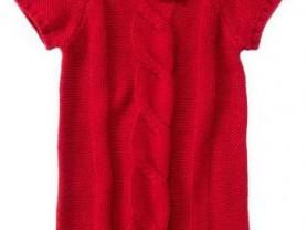 Красное платье Crazy8 на 5-6 лет, новое