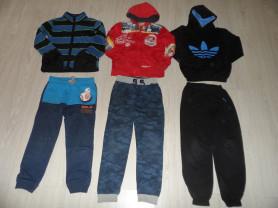 Фирм. штаны толстовки спорт.костюмы жилеты 120-130