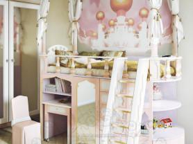 Детская кровать-чердак для девочки НОВАЯ