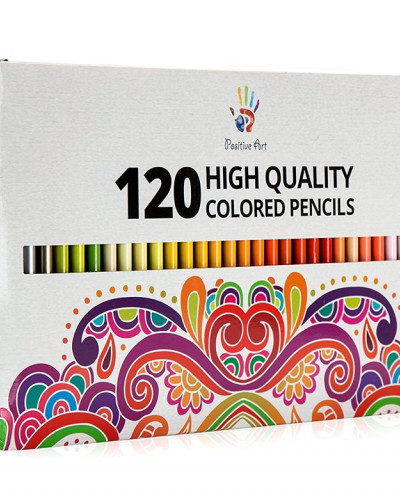 Positive Art Colored Pencils—120 Unique Colors