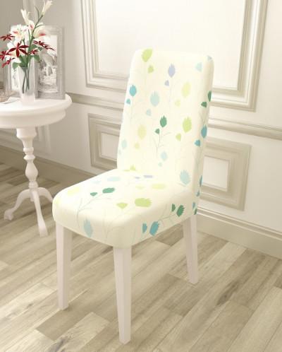 Чехол для стула Абстрактные цветочки 3
