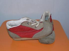 Ботиночки замша+ баллоний (16см)