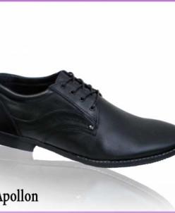Элегантные туфли на шнурках из натуральной кожи