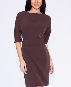 5950 Платье Коричневый