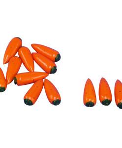Счетный материал морковь (12 штук)