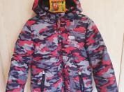 ❤ Куртка для мальчика 122 см тёплая