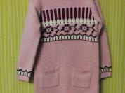 Новое х/б вязаное платье Mothercare 5-110 см