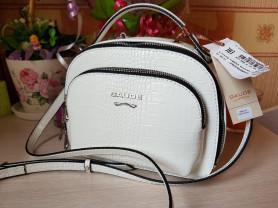 Новая оригинальная кожаная белая сумка Италия