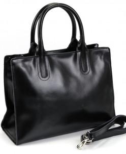 Женская кожаная сумка 1271 Блек